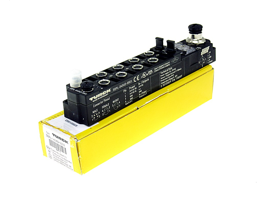 Details about TURCK SDPL-0404D-0003 -NEW-